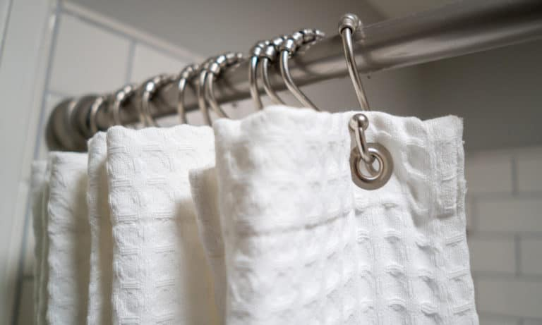 shower curtain tension rod
