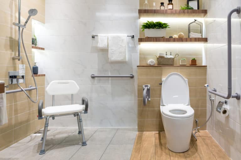 14 Ideas to Make Bathrooms Safe for Seniors and Kids