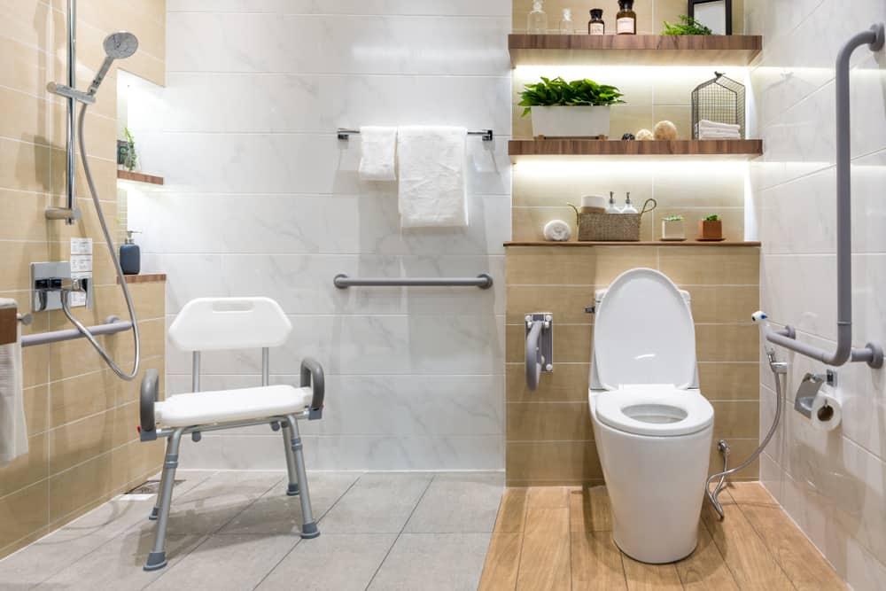 Bathrooms Safe For Seniors And Kids, Bathroom Design For Seniors