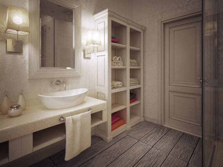 51 Smart Bathroom Storage Ideas for Neater, and Clutter-free