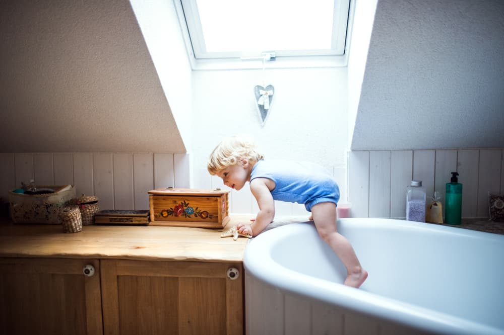 Bathroom risks for kids