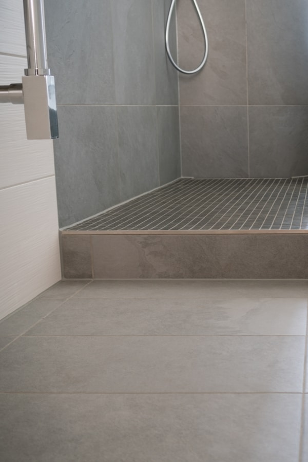Ceramic Tile Bathroom Flooring 1