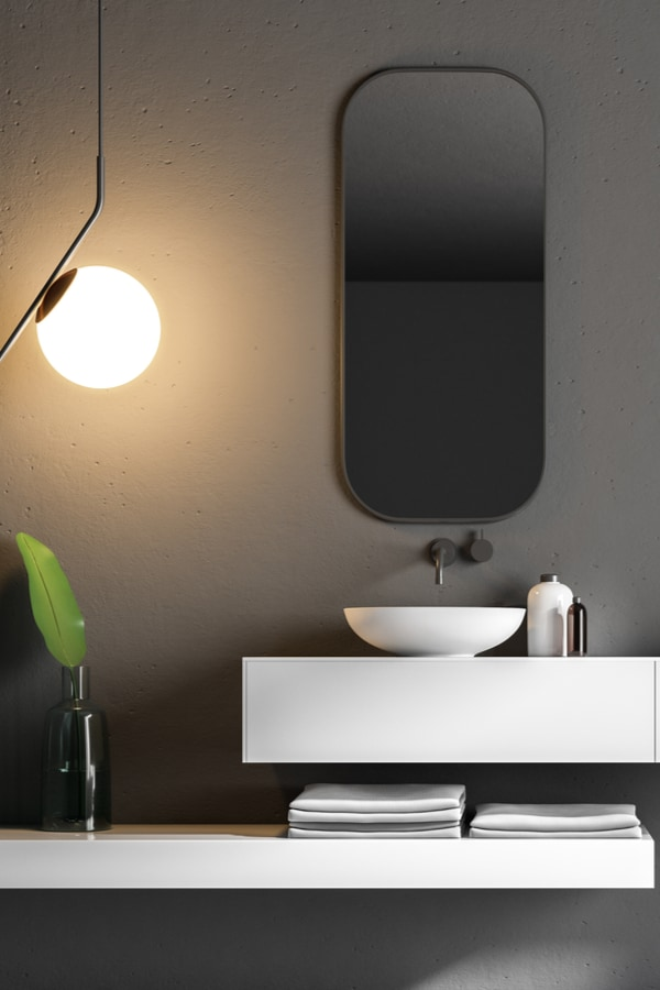 Create a minimalist feel with sleek countertops