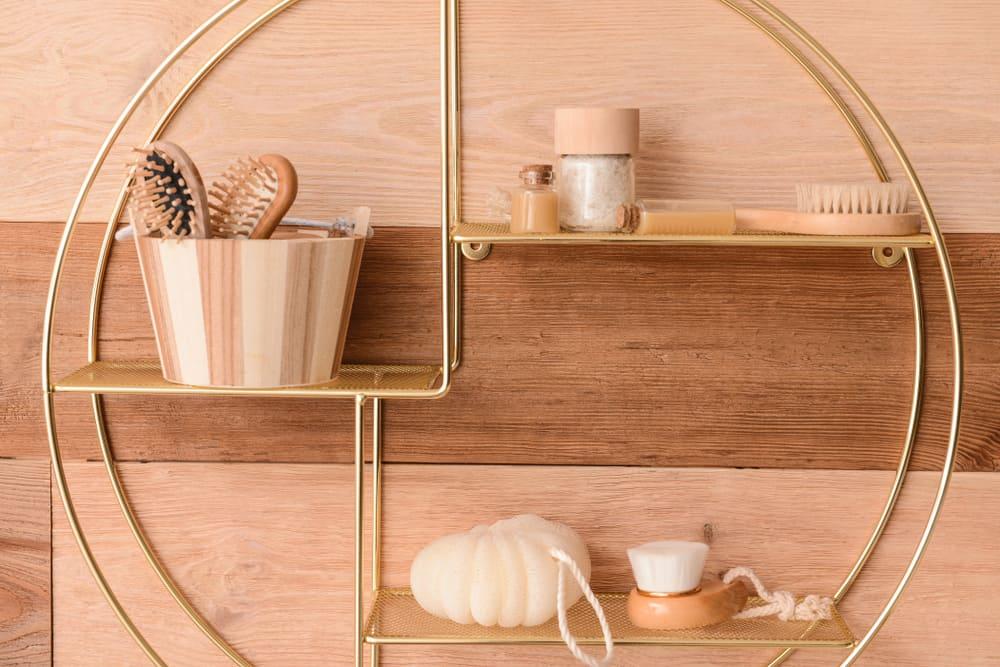 Get your hands on a bespoke circular shelf