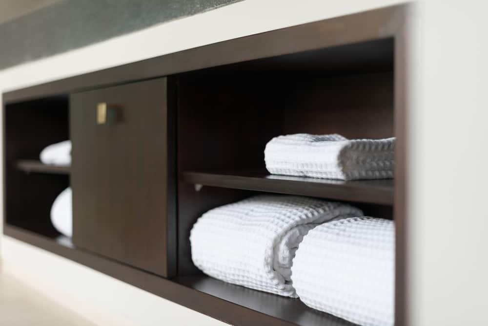Install a handy built-in shelf