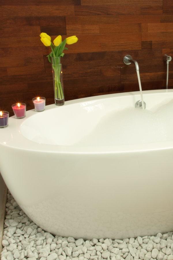 Natural Stone Tile Flooring For Bathroom
