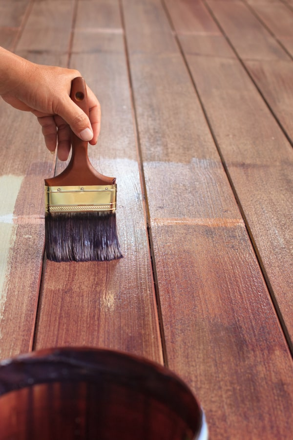 Paint the Wooden Flooring