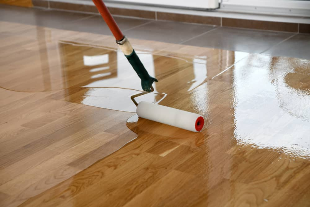 Wooden Floor needs Painting