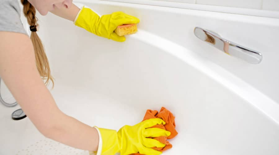 5 Great Tips To Clean Bathtub