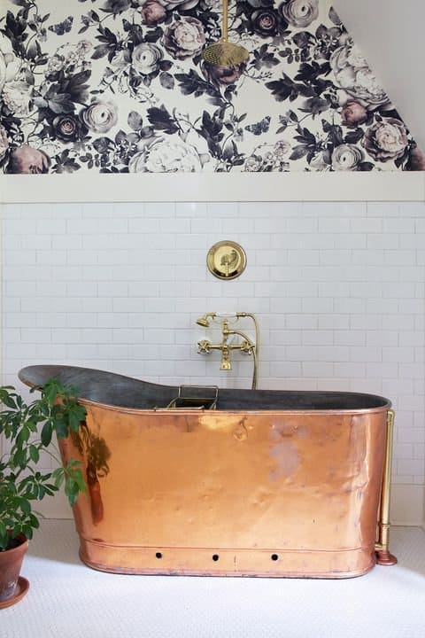 Invest in a Fancy Copper Tub