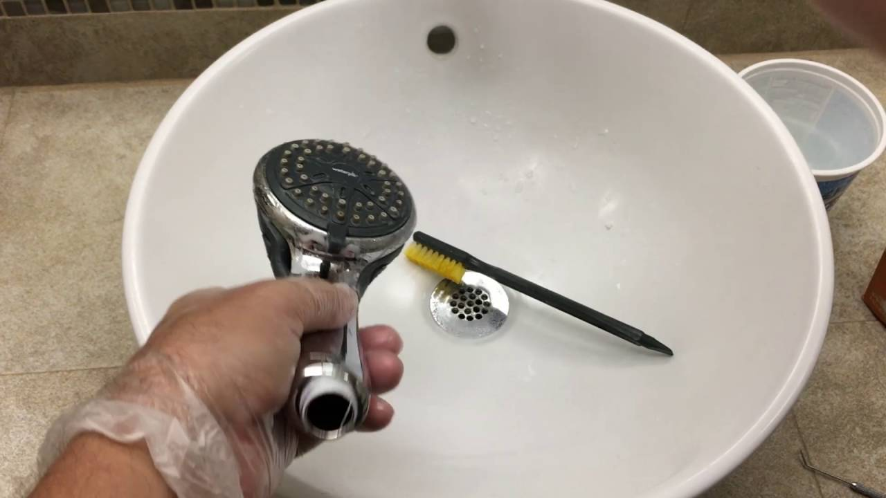 Maintaining a Shower Head