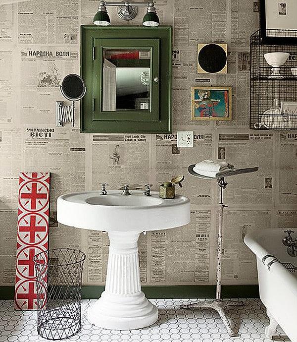 Newspaper Wall Design