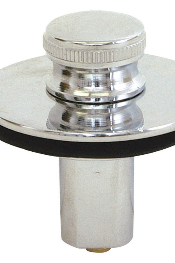 Push-and-Pull Drain Stopper
