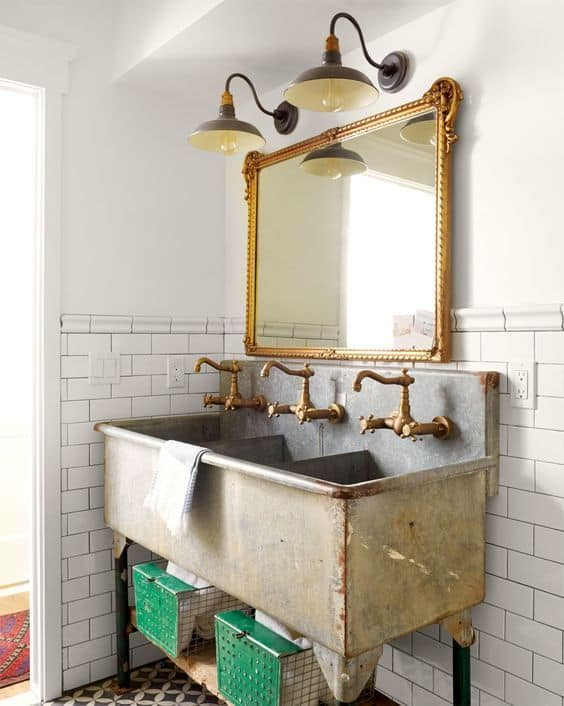 Reclaimed Sink Ideas