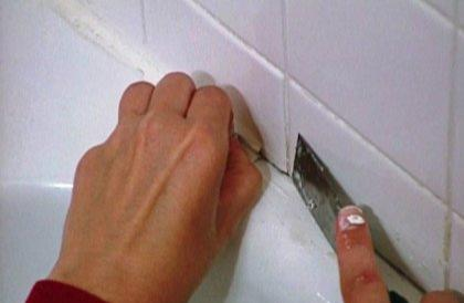 Remove the Caulk