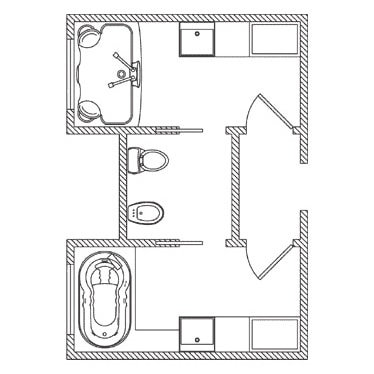 21 Bathroom Floor Plans For Better Layout