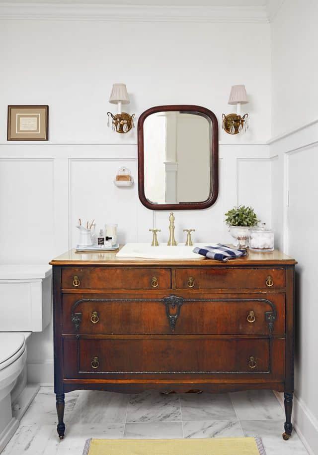 Simple Dresser Vanity