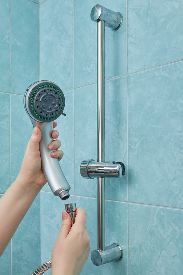 Step 4. Bring in the New Shower Head