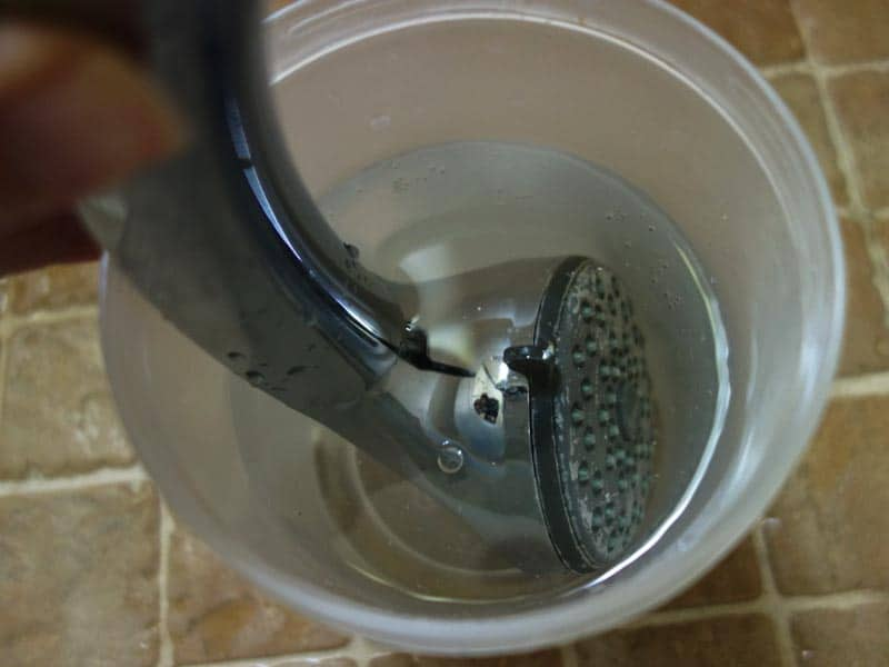 Steps on How to Clean a Showerhead Naturally