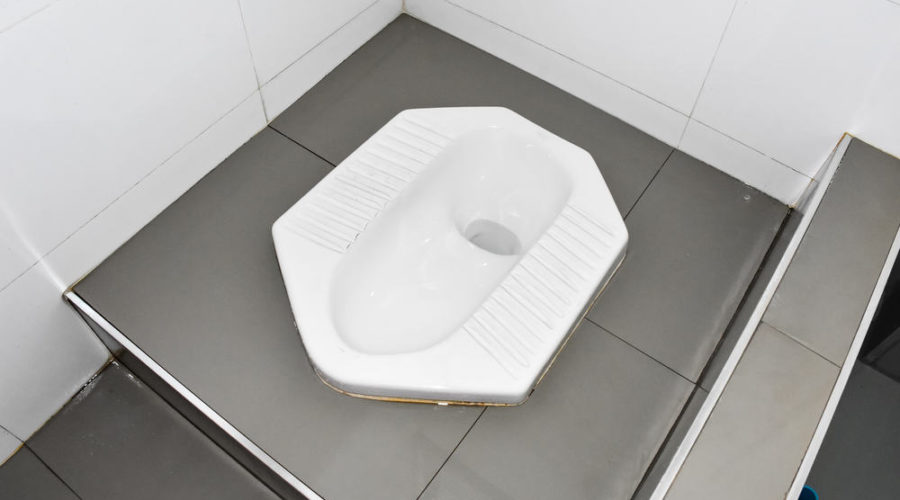 Remarkable 4 Steps To Use A Squat Toilet Like Pro Machost Co Dining Chair Design Ideas Machostcouk