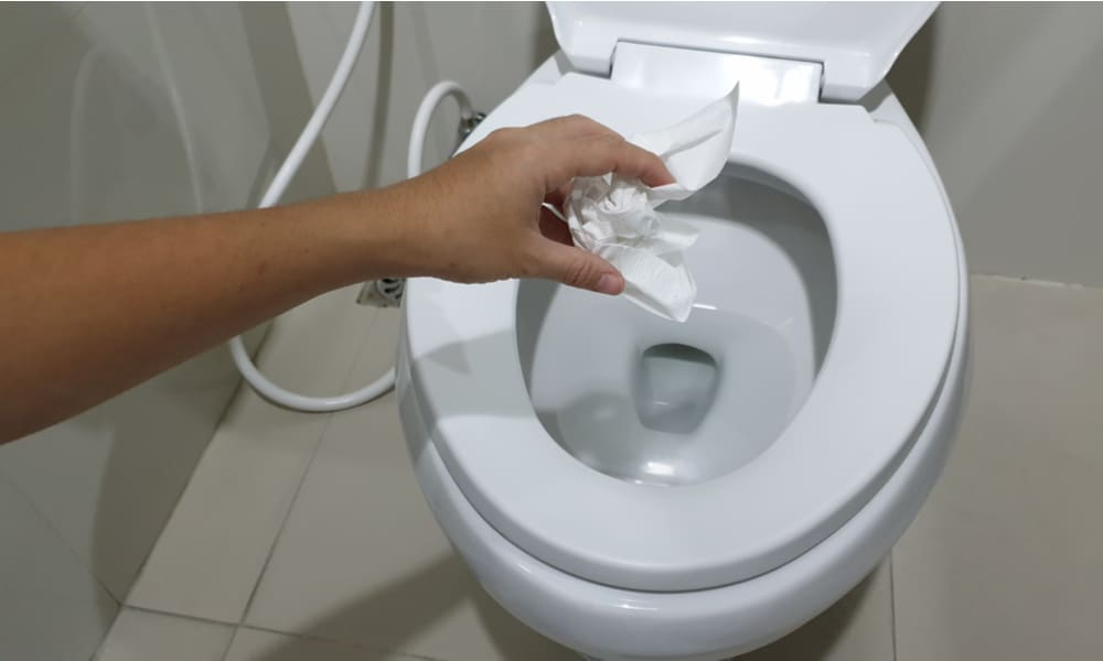 A history of Flushing the Wrong Items