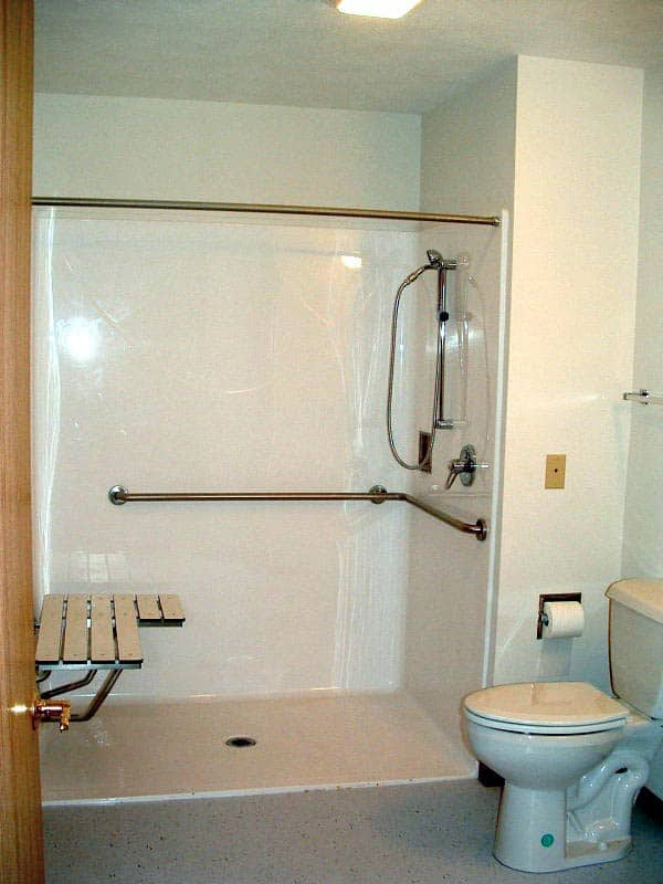 Alternate Roll-in Showers