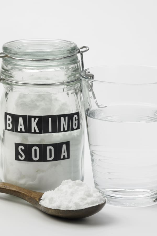 Baking soda and water
