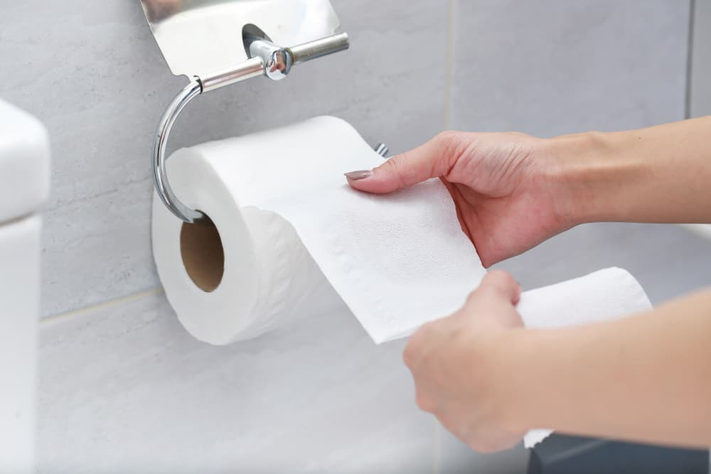 But why are modern toilet papers only white Why not the other color
