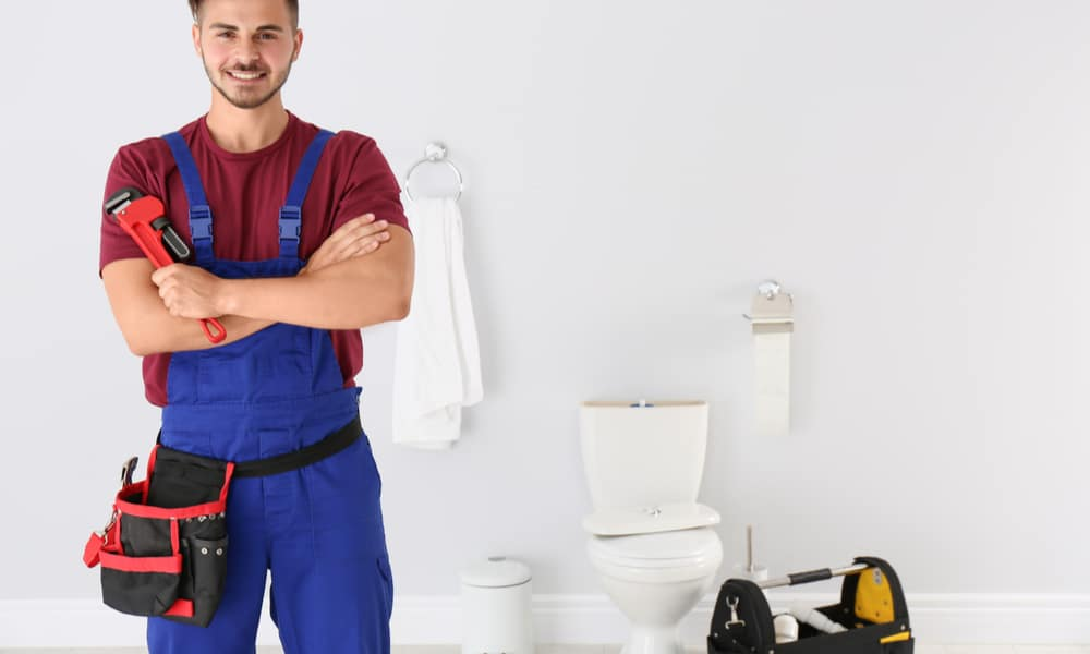 Call the plumber