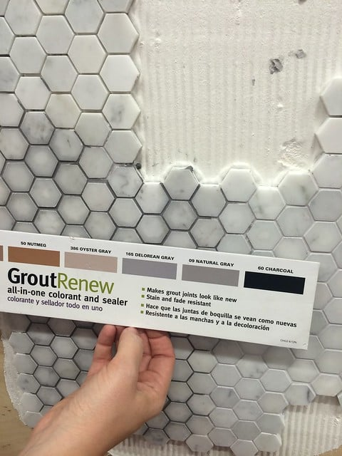 Choose the right grout and sealant color