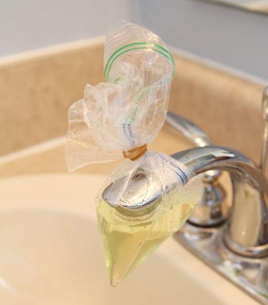 Clean your spout