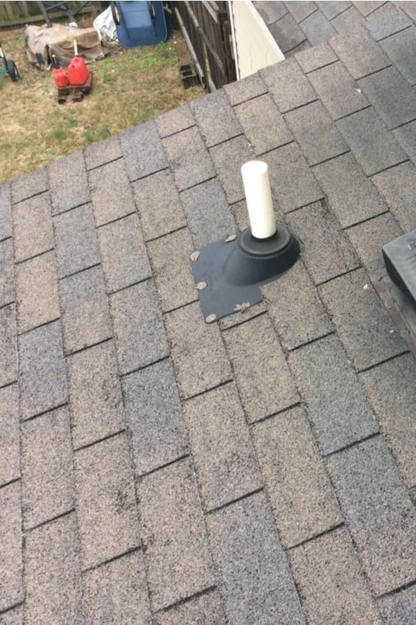 Clogged vent pipes 1