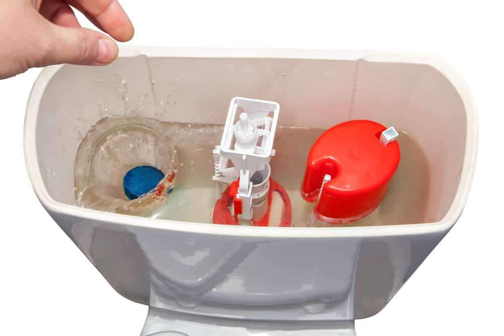 Empty the Toilet Tank