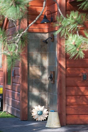 How to Build & Enjoy An Outdoor Solar Shower