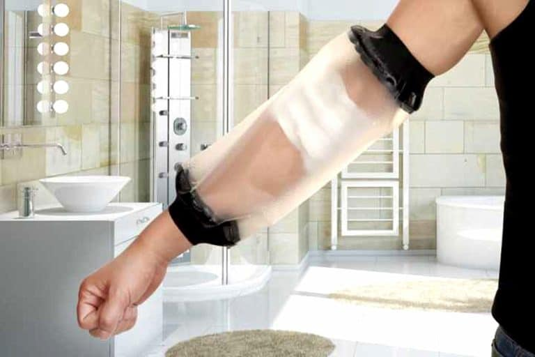 How to Shower With a Cast