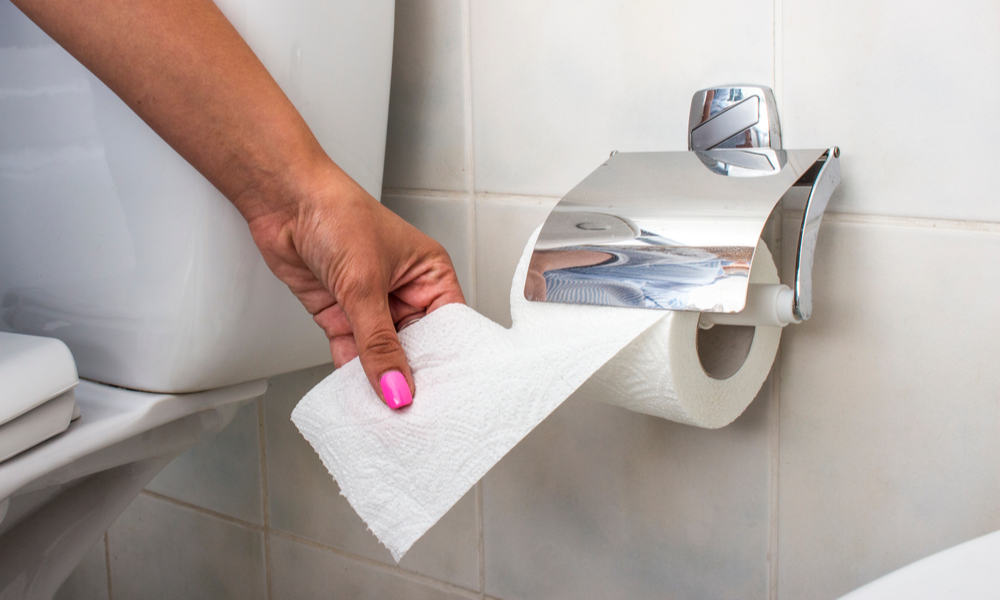 How To Use Toilet Paper Properly