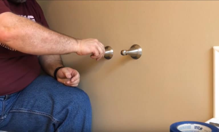 Install a Toilet Paper Holder guide
