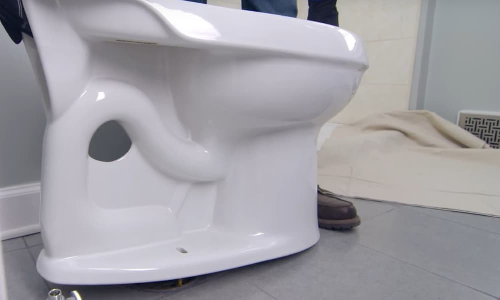 Install the Toilet