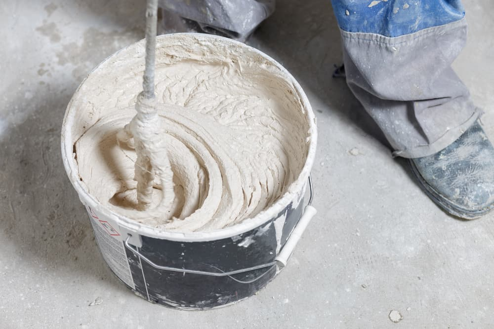Mix your grout to the right consistency