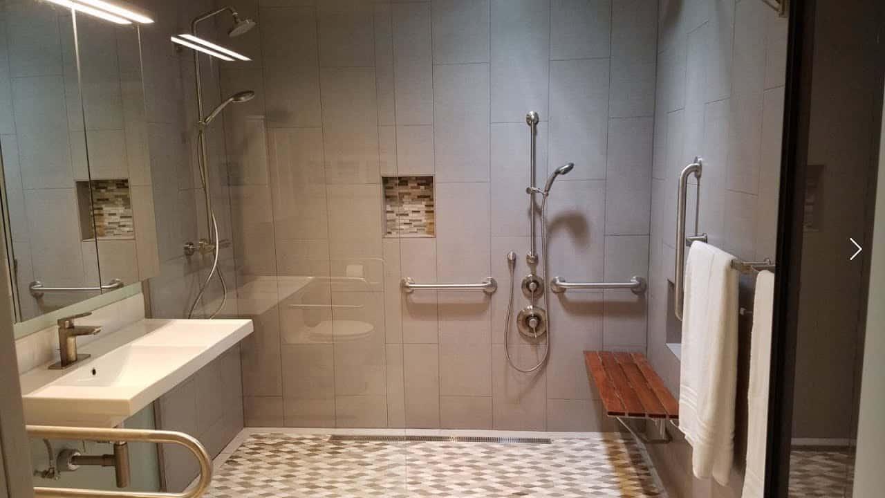 Rectangular Foldable Shower Seats