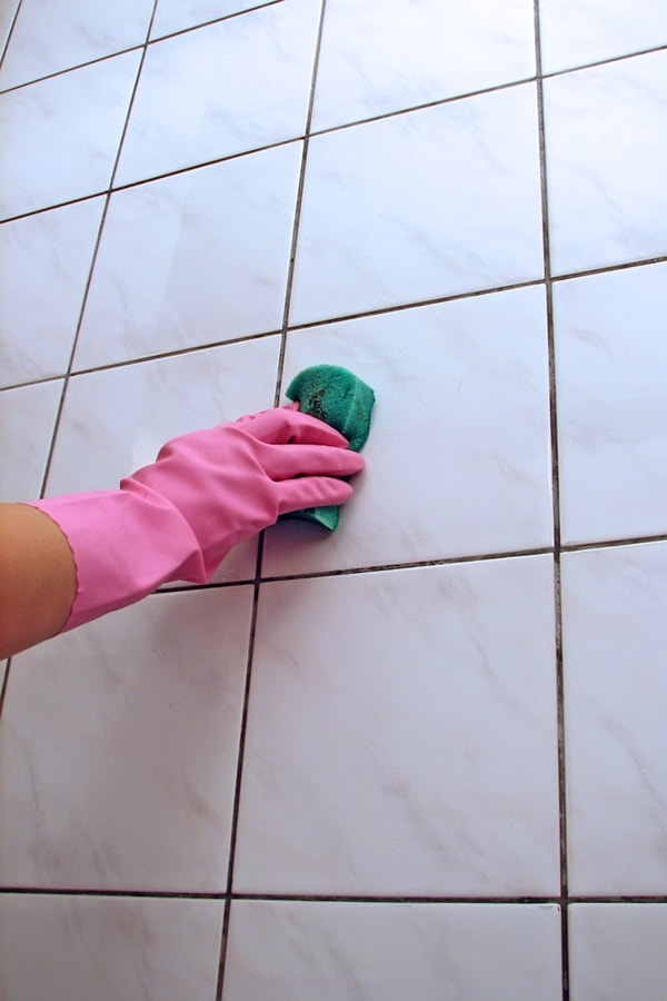 Remove Calcium deposits on Shower Tile