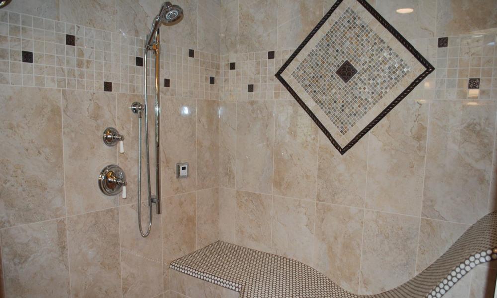Shower Steam Tile