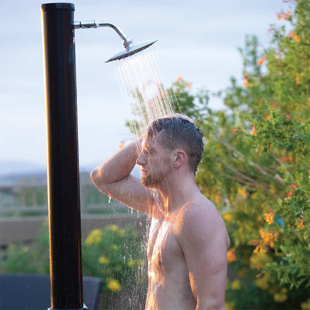 Simple Solar Shower