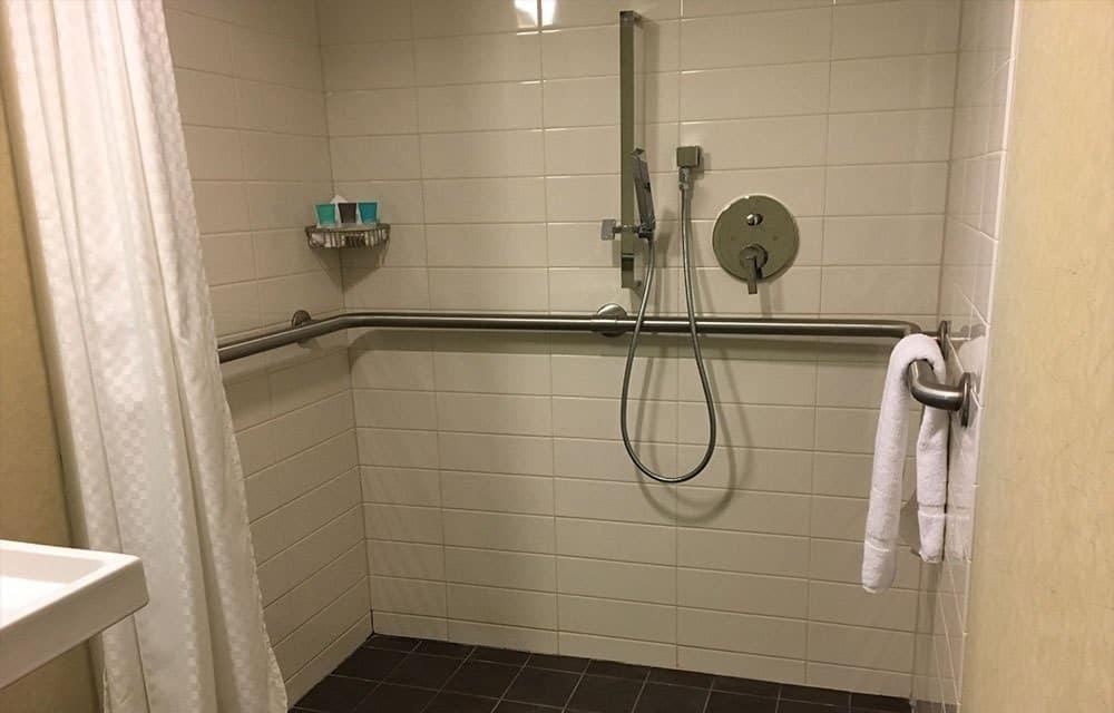 Standard Roll-in Showers