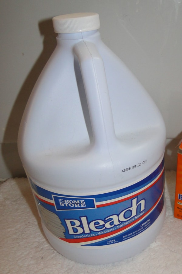 Stay away from bleach