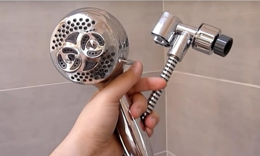 Step 1 Remove the Shower Head