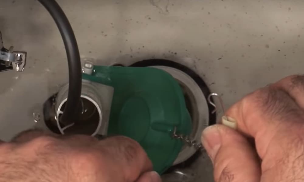Step 2 Remove the Chain from the Handle