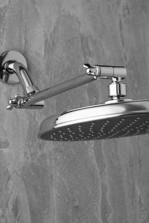 Tips for using Extension Arms for Showerheads