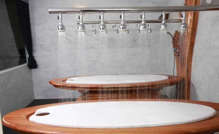 What is a Table Shower 1
