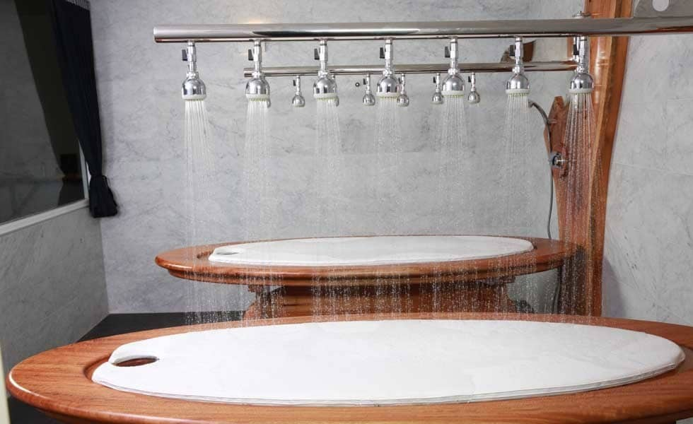 What is a Table Shower? The History & Benefits